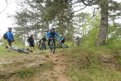2017-04-26 Ecole Vtt Mercredi Petits et Moyens