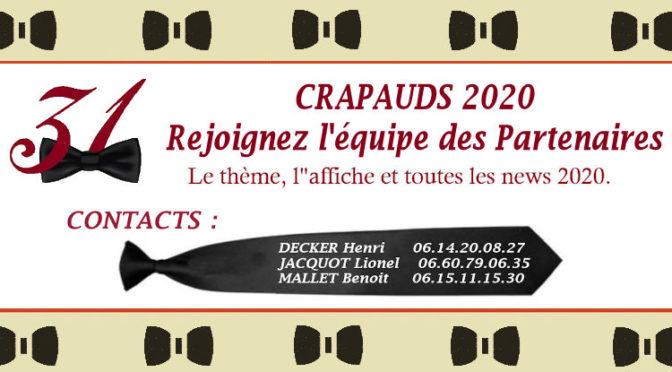 CRAPaUDS 2020 Partenaires