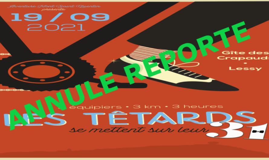 Têtards : reportés